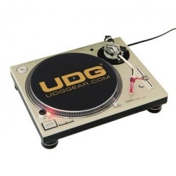 UDG U 9935 - UDG Slipmat Set Black / Golden