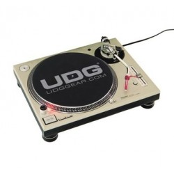 UDG U_9936 - UDG Slipmat Set Black / Silver