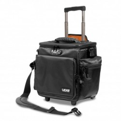 UDG U-9981-BL-OR - UDG Ultimate SlingBag Trolley Deluxe Black, Orange inside MK2 (Without CD wallet 24)