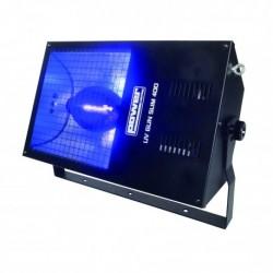 Power Lighting UV GUN SL 400 - Lumière Noire Slim 400W - Fournie Sans Lampe