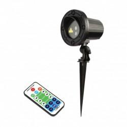 Power Lighting VENGAR_130RG - Laser multipoints d'extérieur 130MW RG