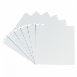 Glorious DJ VINYL DIVIDER WHITE - Intercalaire pour vinyles finition blanche