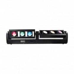 Power Lighting VIPER-6BEAM - Barre 6 Leds de 12W CREE RGBW 4-en-1