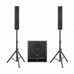 Definitive Audio VORTEX-600-TR - Système compact triphonique actif 600W RMS