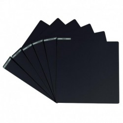 Glorious DJ VINYL DIVIDER BLACK - Intercalaires Vinyles Finition Noir