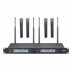 Power Acoustics WM_4900MH_UHF - Quadruple micros main UHF