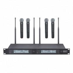 Power Acoustics WM_4900MH_UHF - Quadruple micros main UHF