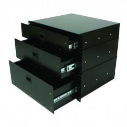 "Power Acoustics R-CASE 4 - Tiroirs en rack 19"""