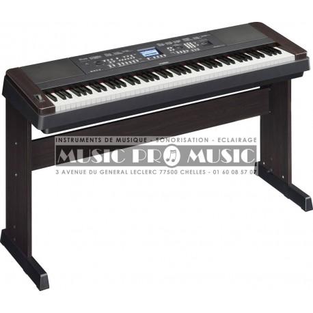Yamaha DGX-650B - Piano numérique arrangeur noir 88 touches