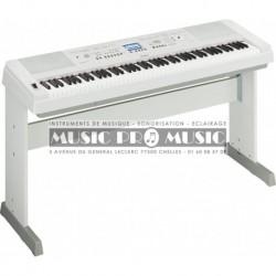Yamaha DGX650WH - Piano numérique arrangeur blanc 88 touches