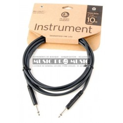 Planet Waves PW-CGT-10 - Câble Instrument moulé 3,05 mètres