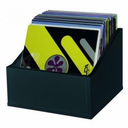 Glorious DJ RE-ADV-110-BL - Casiers Rangement 110 Vinyles Finition Noir