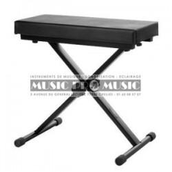 Music Pro Music KB002-BK - Banquette clavier confort pliable