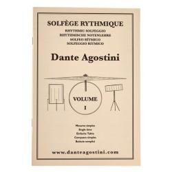 Dante Agostini - Solfège rythmique - Volume 1 - Recueil