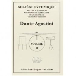 Dante Agostini - Solfège rythmique - Volume 2 - Recueil