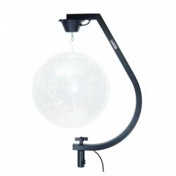 Power Acoustics MIRRORBALL STAND BL - Support noir pour boule à facettes
