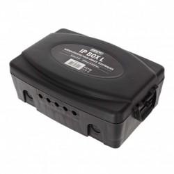 Power Acoustics IP BOX L - Boîtier IP54 pour câbles électriques
