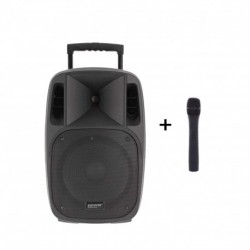 Power Acoustics MOOVY-10-MK2 - Sono portable 10'' sur batterie + 1 micro main VHF