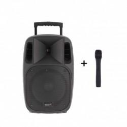 Power Acoustics MOOVY 10 MK2 - Sono portable 10'' sur batterie + 1 micro main VHF