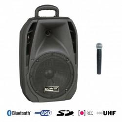 Power Acoustics BE 4400 UHF MK2 - Sono Portable USB + SD CARD + 1 Micro Main UHF + Bluetooth