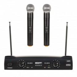 Power Acoustics WM 4400 MH UHF GR1 - Double micros main UHF – Freq 823-826.5 MHZ