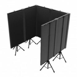 Power Studio STUDIO-BETA - Pack : 6x FOAM 400 PANEL + 3x FOAM 400 JOINT + 2x FOAM 400 ANGLE