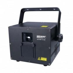 Power Lighting SATURNE 3K RGB - Laser à animations Rouge, Vert, Bleu 3000 MW