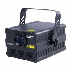 Power Lighting SAT-500RGB-V2 - Laser à animations Rouge, Vert, Bleu 500 MW