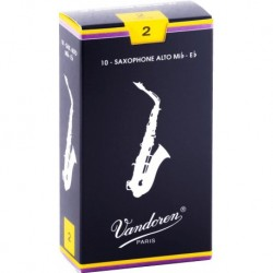 Vandoren SR2115 - Anches saxophone alto Traditionnelles force 1,5