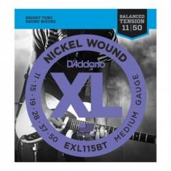 D'Addario EXL115BT - Cordes 11-50 pour guitare électrique