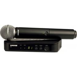 Shure BLX24E-SM58-M17 - Système sans fil UHF Micro main SM58 bande M17