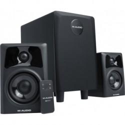 M-Audio STDPHILEAV321 - Système 2.1 Enceintes de monitoring et caisson de basse