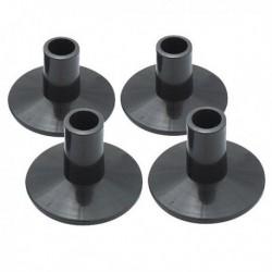 Dixon PSYC-19D-HP - 4 supports pour tilter de pied de cymbale nylon hauteur 35mm