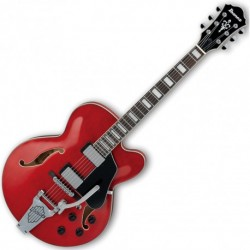 Ibanez AFS75T-TCD - Guitare demi caisse vintage cherry avec bigsby