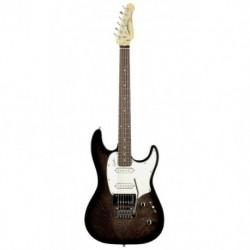 Godin GO034048 - Guitare électrique session noir translucide touche palissandre