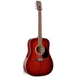 Art & Lutherie AL013982 - Guitare dreadnough Burgundy