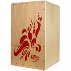 Katho KT36 - Cajon Fiesta Rouge
