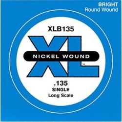D'Addario XLB135 - Corde 135 nickel pour basse électrique