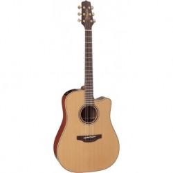 Takamine EF341SC - Guitare dreadnough electro acoustique cutaway noire