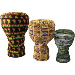 Housse Tissus pour Djembe Grand Taille