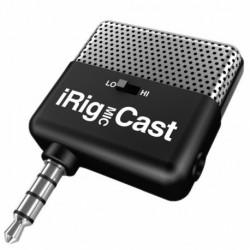 IK Multimedia IRIG-MIC-CAST - Micro chant pour smartphone et tablette
