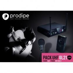 Prodipe UHFGL21PACK - Système sans fil pour guitare et ukulélé