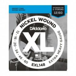 D'Addario EXL148 - Jeu de cordes 10-60 pour guitare électrique