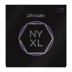 D'Addario NYXL1149 - Jeu de cordes NYXL 11-49 pour guitare électrique