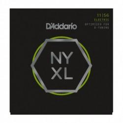 D'Addario NYXL1156 - Jeu de cordes NYXL 11-56 pour guitare électrique