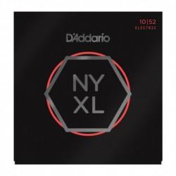 D'Addario NYXL1052 - Jeu de cordes NYXL 10-52 pour guitare électrique