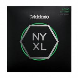 D'Addario NYXL4095 - Jeu de cordes NYXL 40-95 pour basse électrique