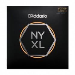 D'Addario NYXL50105 - Jeu de cordes NYXL 50-105 pour basse électrique