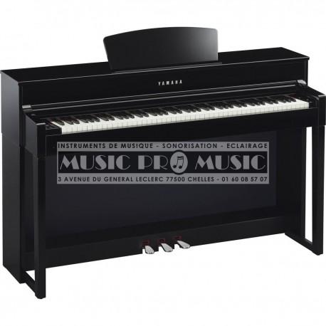 Yamaha CLP-535PE - Piano numérique noir laqué avec meuble