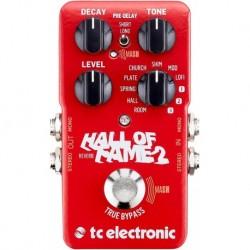 TC Electronic HALL-OF-FAME-2 - Pédale Hall of Fame 2 pour guitare électrique